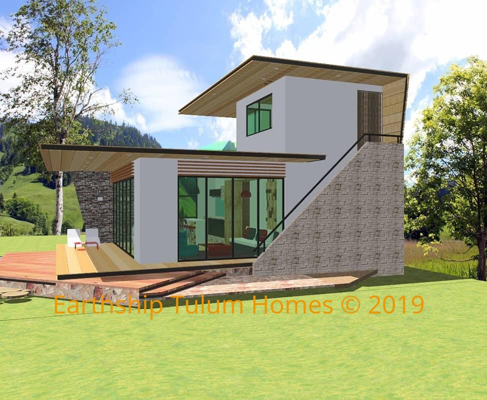 Let us build your ex pat eco home on our land or yours in 90 days!